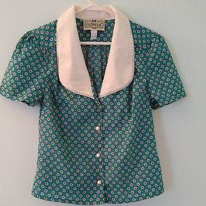 Collectif 40s Gerry Apple Blouse